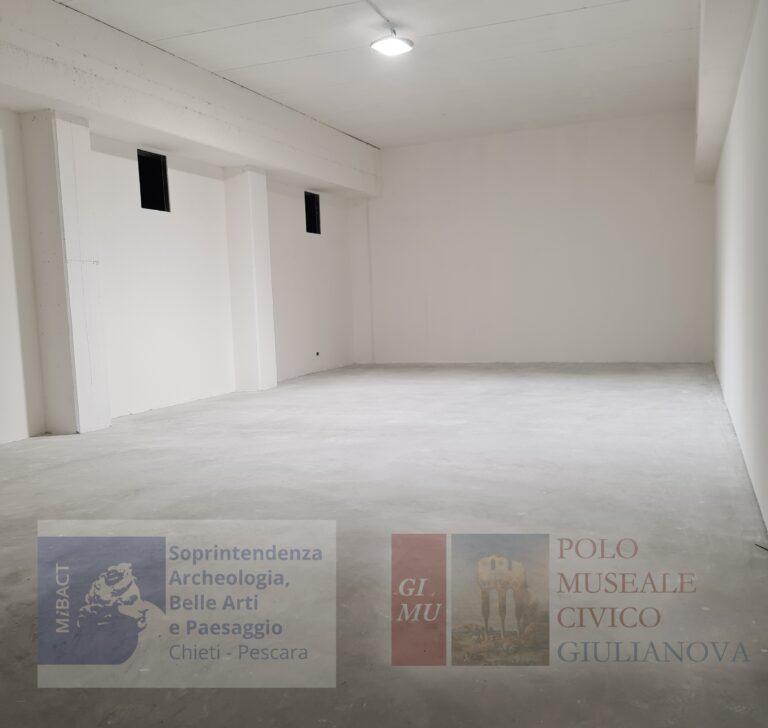 Giulianova, in via di ultimazione i lavori al Deposito Archeologico sotto al Belvedere