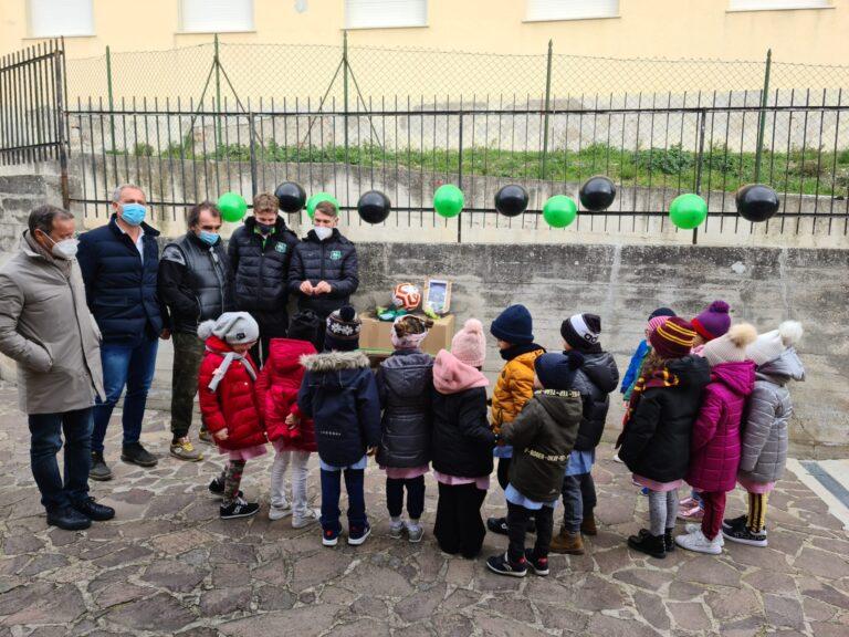 """Calcio, partito il progetto """"sociale"""" del Castelnuovo Vomano FOTO"""