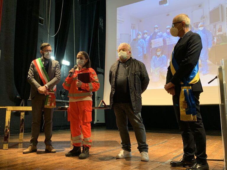 Città Sant'Angelo: riconoscimenti dal comune ai volontari per lo screening anticovid