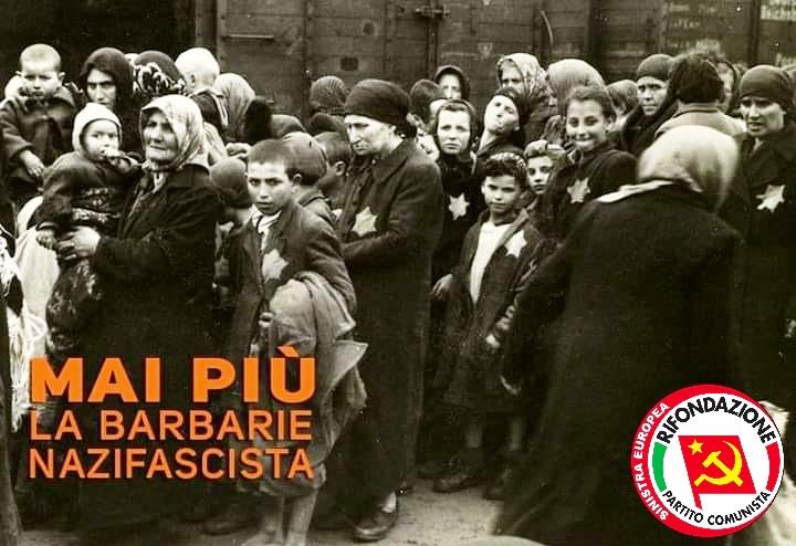 Rifondazione Comunista partecipa anche a Teramo al Giorno della Memoria