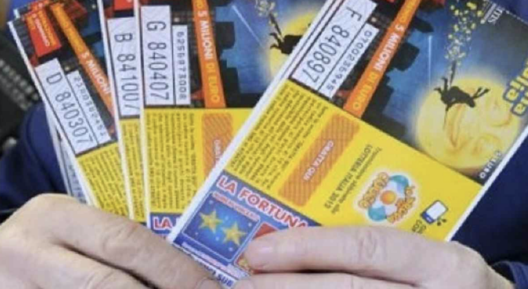 Lotteria Italia, nel teramano vinti 100mila euro
