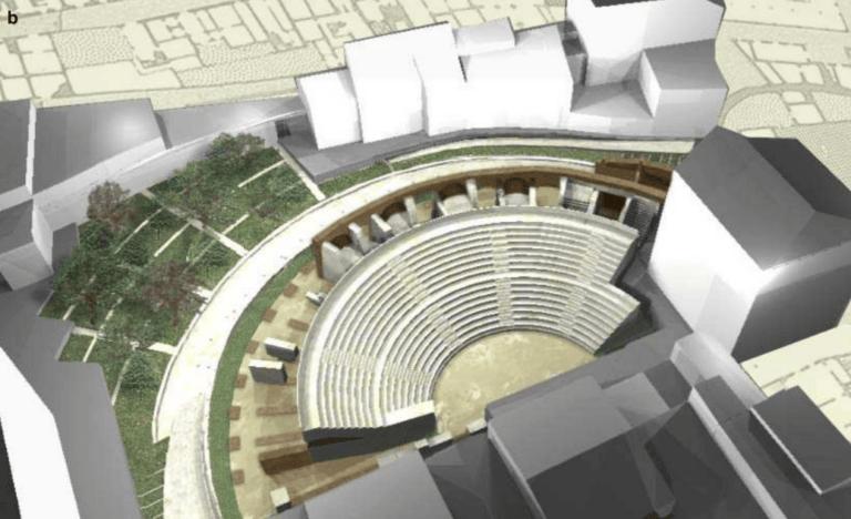 Teramo, area esterna al Teatro romano: chiesto referendum per il recupero urbano