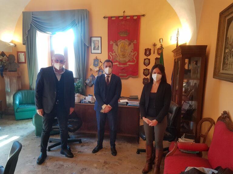 Giulianova, visita istituzionale del Componente Segreteria Regionale di Forza Italia Emilio Palumbo