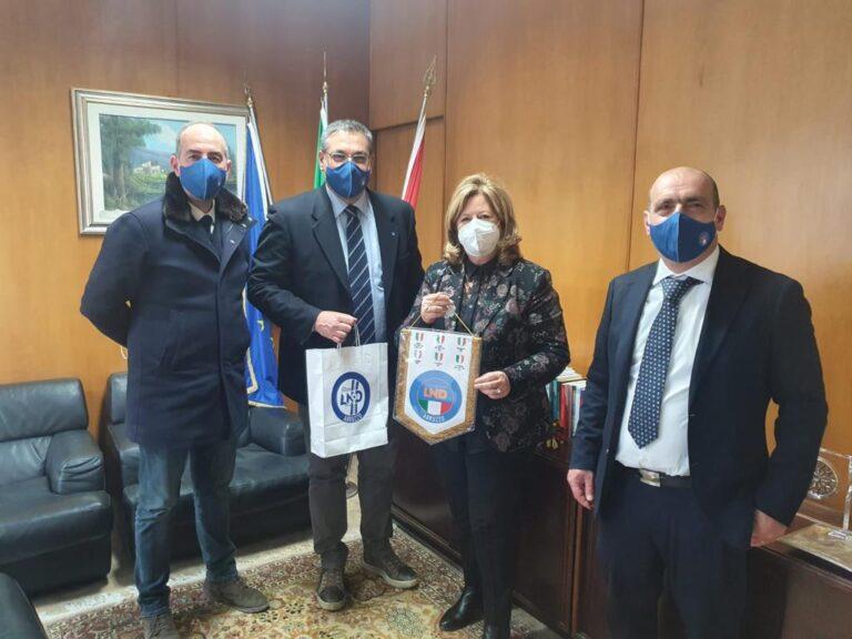 Ripartenza nello sport: la Lnd Abruzzo incontra l'assessore Verì