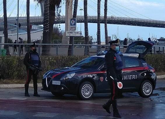 Pescara, positiva al covid ma a spasso per strada: denunciata