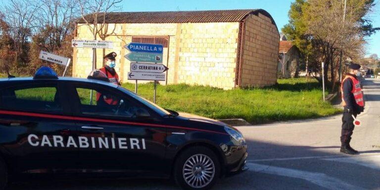 Positivo al Covid fermato in strada: da Pescara a Rosciano sul suo camion per lavoro