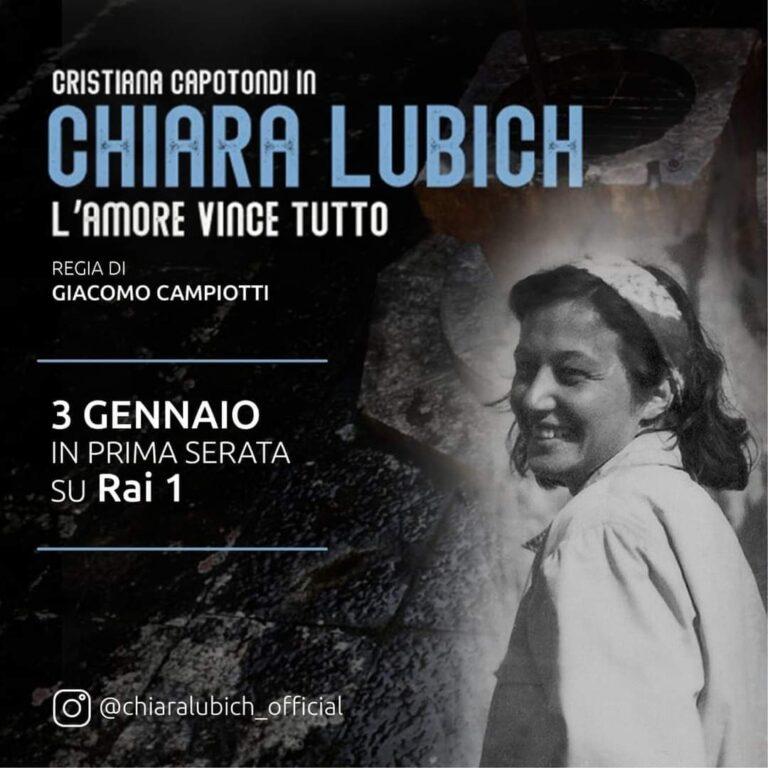 """La giuliese Gladis Di Pietro story editor del film """"Chiara Lubich. L'amore vince tutto"""" in prima serata su Rai 1 il 3 gennaio"""
