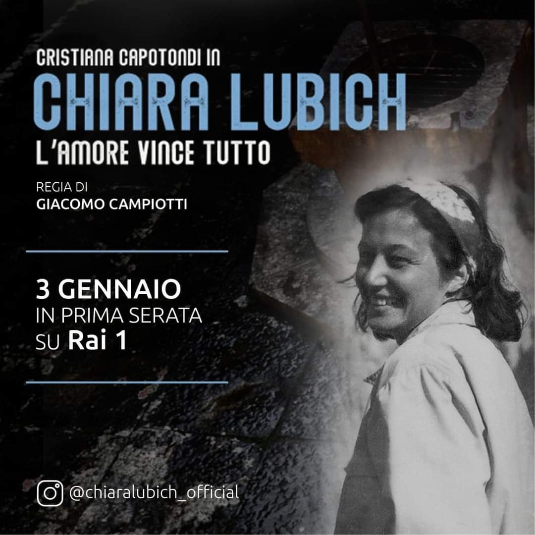Boom di ascolti per Chiara Lubich su Rai 1