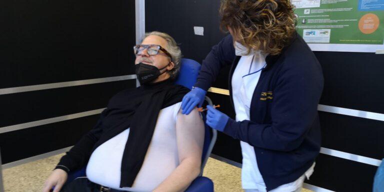 Teramo, vaccinati i vertici della Asl Di Giosia e Brucchi NOSTRO SERVIZIO