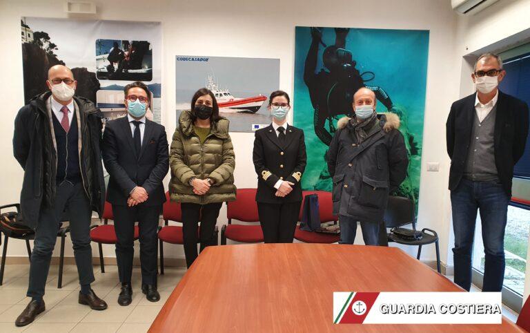 Giulianova, incontro tra l'Autorità Marittima e l'Ente Porto