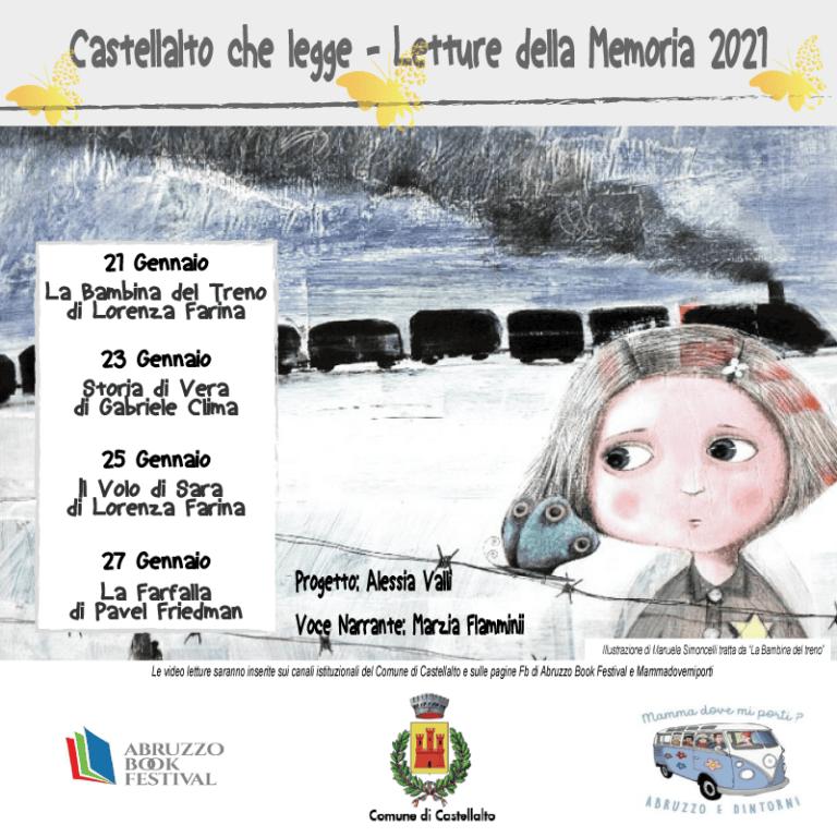 """""""Castellalto che legge"""": le iniziative per la Giornata della Memoria"""