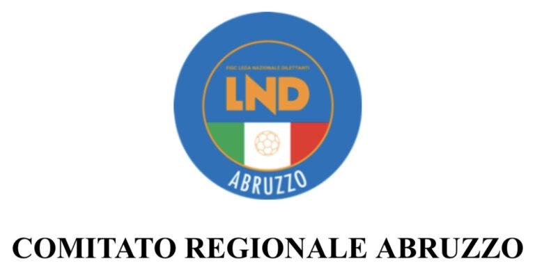 LND Abruzzo, le elezioni si svolgeranno online