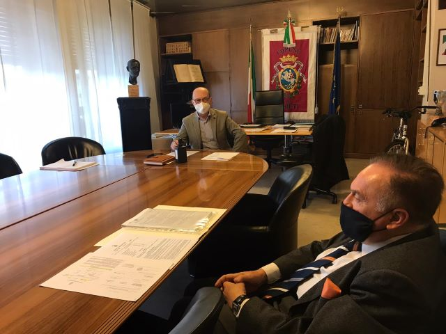 Chieti, incontro del sindaco con il direttore del Ciapi