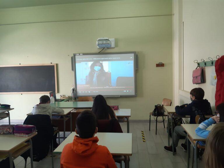 Istituto Castellalto-Cellino, lezione con Ponziani e Melchiorre sulla Giornata della Memoria FOTO