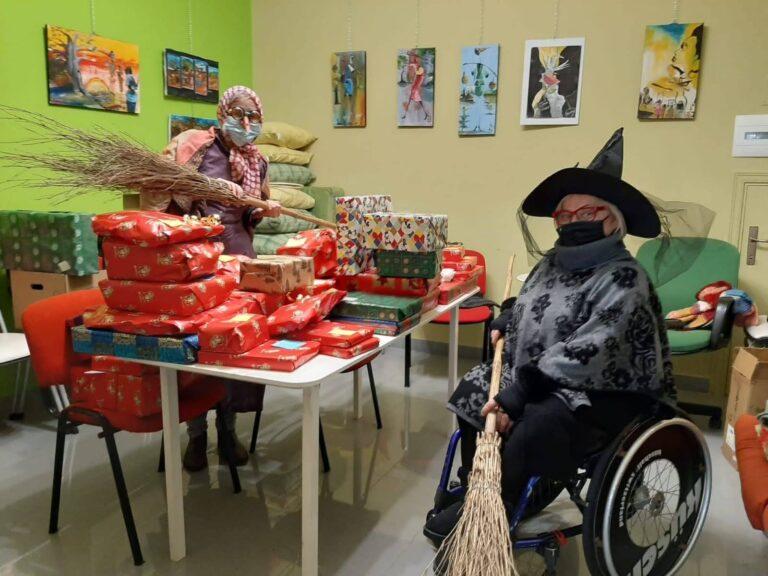 Giulianova, sorrisi e tanti doni per le befane del Colibrì