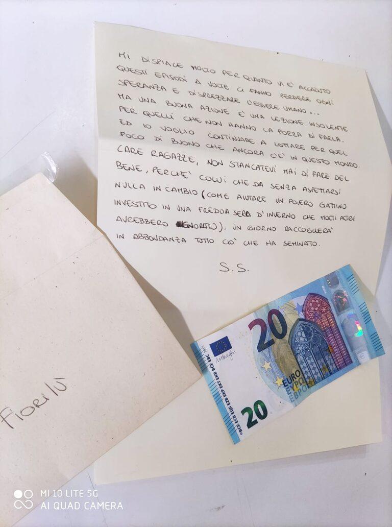 Martinsicuro, le fioriere rubate e la lettera di sostegno: la storia