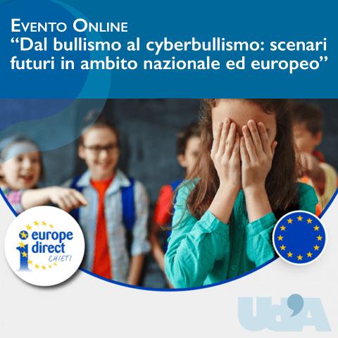 'Dal bullismo al cyberbullismo', webinar organizzato dall'Università d'Annunzio di Chieti-Pescara