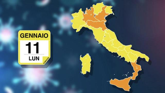 Speranza ha firmato l'ordinanza: 5 regioni passano in zona arancione