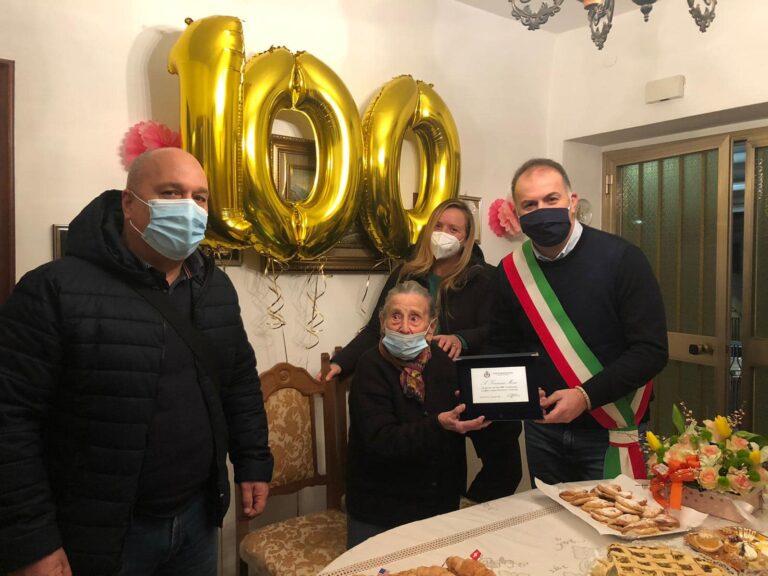 Montesilvano, Francesca Mosca festeggia 100 anni