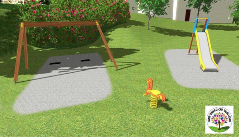 Sant'Omero, ok al progetto per il parco giochi a Poggio Morello