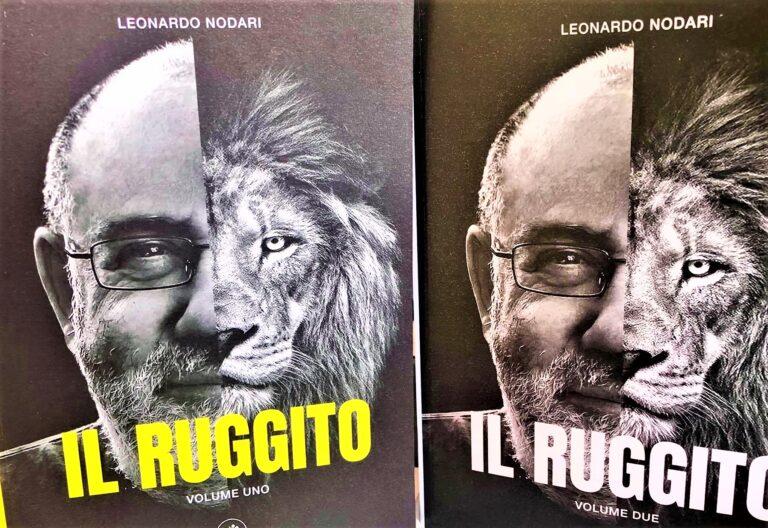 """I """"Ruggiti"""" di Leo Nodari raccolti in due libri"""