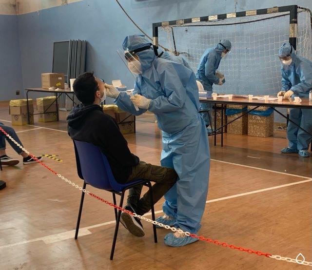 Spoltore, nuovo screening anti-covid dopo i casi a scuola