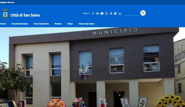 Nuovo sito del Comune di San Salvo