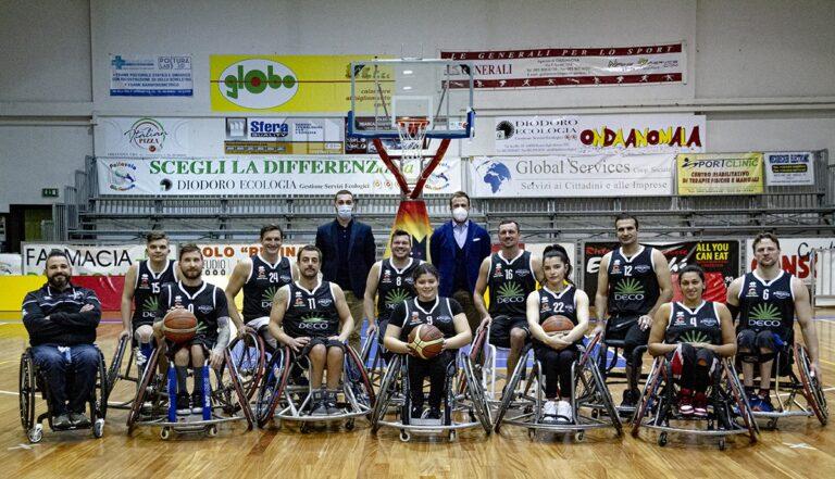 Basket in carrozzina, riparte la stagione dell'Amicacci Giulianova