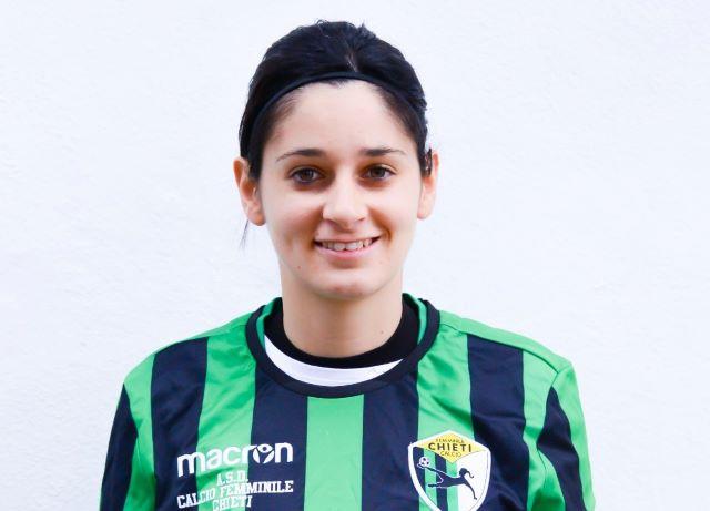 Stephanie Galluccio, la nuova punta di diamante del Chieti Calcio Femminile