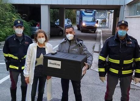 Consegnati i vaccini negli ospedali di Atri, Giulianova e Sant'Omero