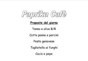 PAPRIKA CAFÈ: ogni giorno propone piatti freschissimi