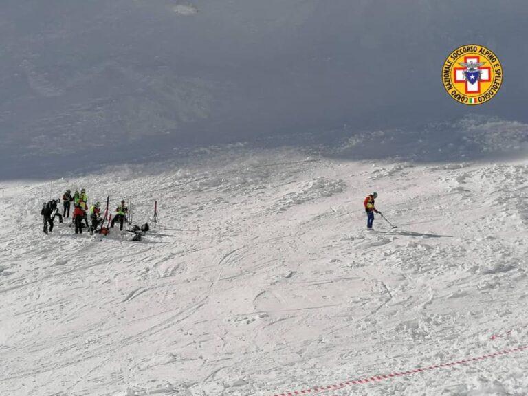 Tragedia Monte Velino: il quarto corpo sarà recuperato sabato