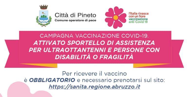 Pineto, sportello per prenotazione vaccini anti Covid: la soddisfazione di Fratelli d'Italia