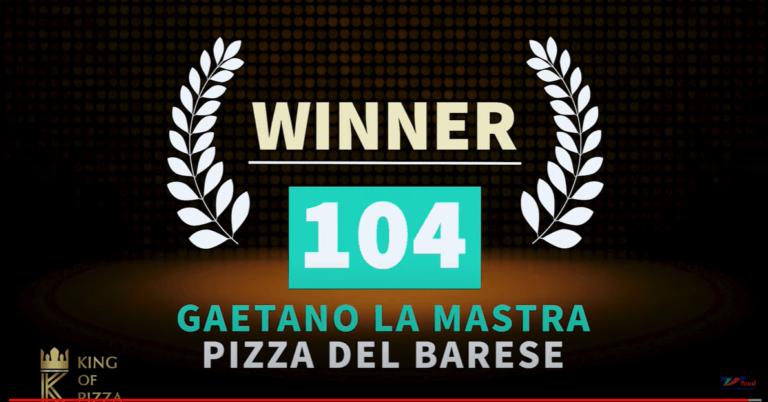 DAL PUGLIESE RISTORANTE, vincitore puntata #12 del KING OF PIZZA
