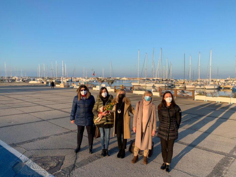 Giulianova, CPO augura buon lavoro alla neo componente del Cda dell'Ente Porto Monica Tentarelli