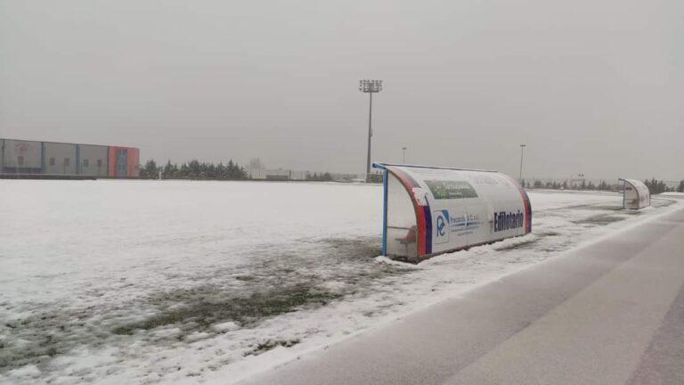 La neve ferma Notaresco e Pineto. Derby Castelnuovo-Giulianova