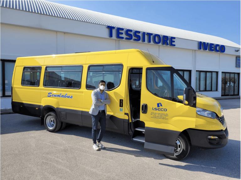 Da Isola del Gran Sasso nuovi scuolabus per la regione