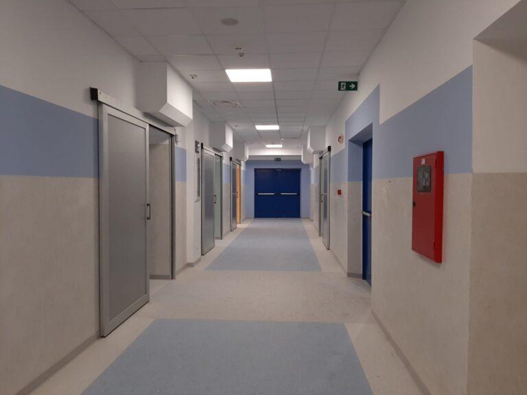 Ospedale Mazzini, lavori finiti al reparto di terapia sub intensiva FOTO