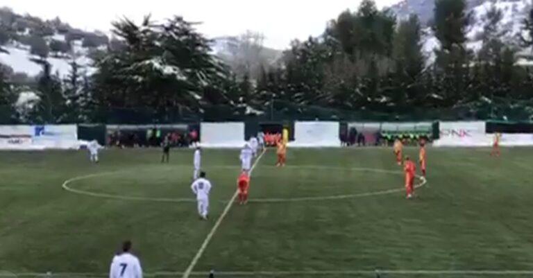 Serie D, manita del Castelnuovo sul Giulianova (5-1)