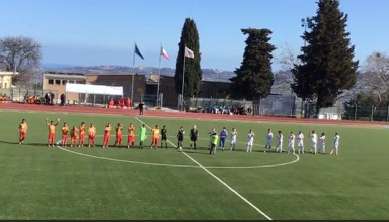 Serie D, Giulianova battuto dalla Recanatese al 92′ (3-2)