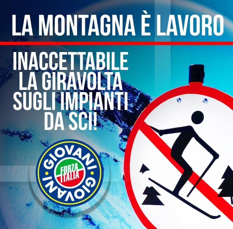 Forza Italia Giovani chiede un sostegno per gli impianti sciistici teramani