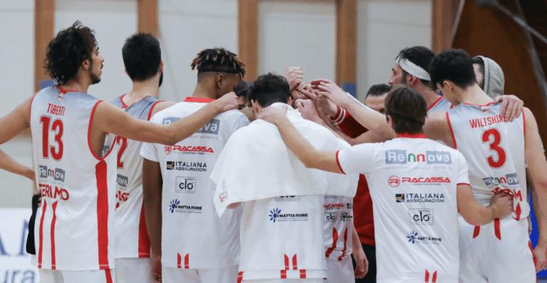 Basket Serie B, quinto ko per la Rennova Teramo: ora la classifica si fa difficile
