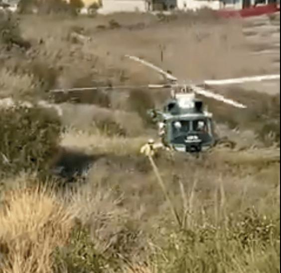 Roseto, escursionisti bloccati nella cava dell'ex fornace: messi in salvo VIDEO