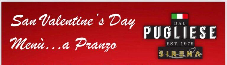 DAL PUGLIESE RISTORANTE, un pranzo speciale per San Valentino