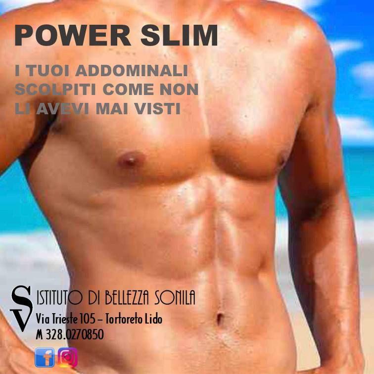 Istituto di bellezze SONILA: POWER SLIM per un corpo perfetto