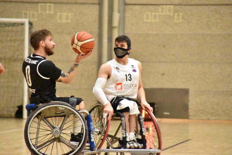 Basket in carrozzina, l'Amicacci sconfitta di 3 a Padova
