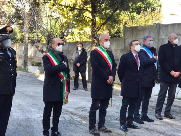 Pescara, ricordati i 9 partigiani uccisi a Colle Pineta