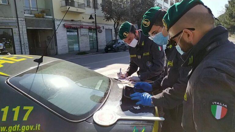 Pescara, la Guardia di Finanza intensifica i controlli: il bilancio degli ultimi 10 giorni