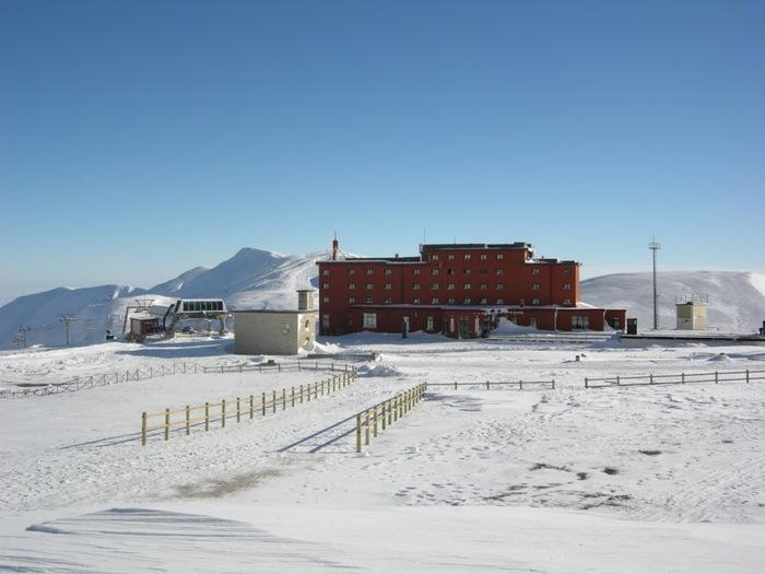 Abruzzo nella morsa del gelo: -14,3 gradi a Campo Imperatore