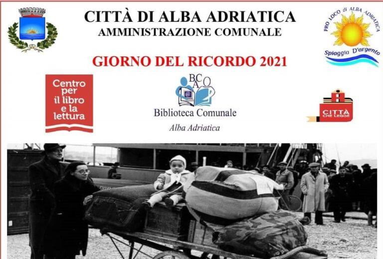 """Alba Adriatica celebra il """"giorno del ricordo"""""""